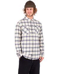 RVCA Thatll Work Flannel Shirt blanco