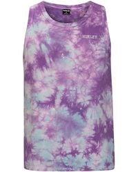 Hurley Ziggy Tie Dye Tank Top violeta - Rosa