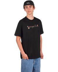 Primitive Dirty P Particle T-Shirt - Schwarz