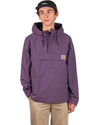 Carhartt WIP Nimbus Anorak violeta - Morado