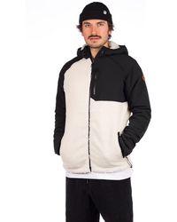 Dravus Ingrain Sherpa Jacket - Schwarz