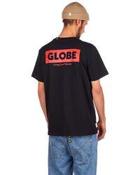 Globe Living Low Velocity T-Shirt - Schwarz