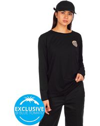 Santa Cruz BT Fall Dye Dot Long Sleeve T-Shirt - Schwarz