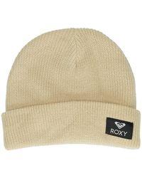 Roxy - Island Fox Beanie blanco - Lyst