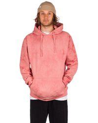 Zine Overcast hoodie pastel red - Rot