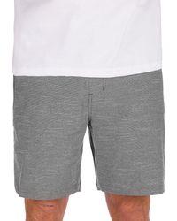 "Hurley Phantom flex response 18"" shorts gris"
