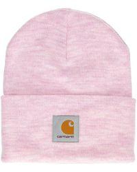 Carhartt WIP Acrylic Watch Beanie - Pink