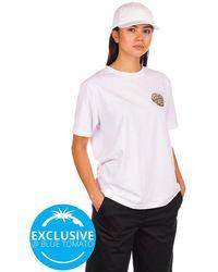 Santa Cruz BT Fall Dye Dot T-Shirt - Weiß