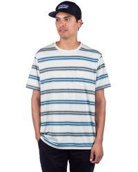 Patagonia Squeaky Clean Pocket T-Shirt estampado - Azul