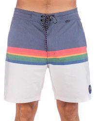 "Hurley Beachside pendltn crtr lk 18"" boardshorts gris - Multicolor"