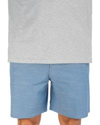 "Hurley Phantom flex response 18"" shorts azul"