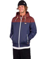 Iriedaily Insulaner jacket marrón - Azul