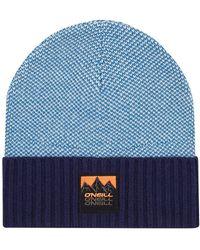 O'neill Sportswear - Badge Beanie azul - Lyst