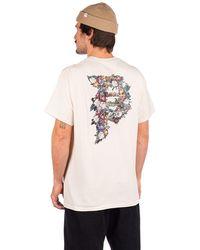 Primitive Dirty p tribute t-shirt blanco - Multicolor