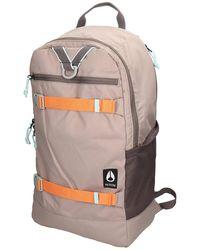 Nixon Ransack Backpack marrón - Gris