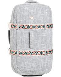Roxy Live away travel bag gris - Metálico