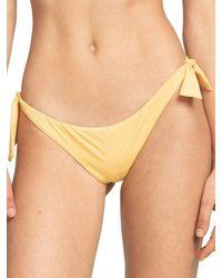 Billabong S.S Tanga Bikini Bottom amarillo