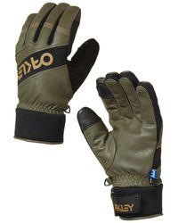 Oakley Factory Winter 2.0 Gloves verde