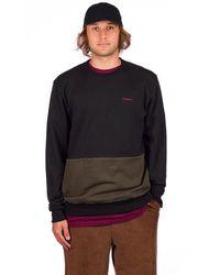 Volcom Forzee Crew Sweater negro - Multicolor