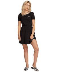 Volcom Animal Hour Dress negro