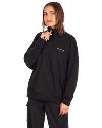 Carhartt WIP Script embroidery highneck sweater negro