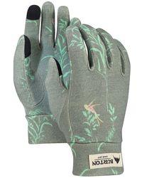 Burton Merino Wool Liner Gloves - Grün