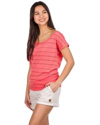 Kazane Hilde T-Shirt rosado - Multicolor