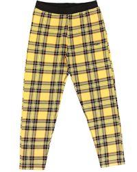 Oakley Tartan Fleece Pants amarillo