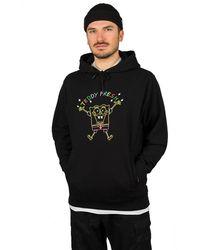Teddy Fresh X Spongebob Embroidered Hoodie negro