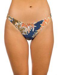 Rip Curl Sunsetters Full Bikini Bottom azul