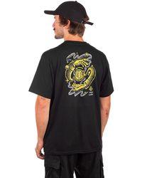 Element Rotation t-shirt - Schwarz