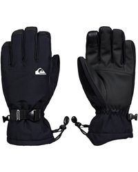Quiksilver Mission Gloves negro