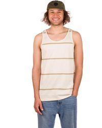 Rip Curl Swc Sundown Stripe Tank Top blanco - Neutro