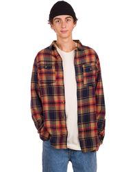 Dravus Jubal Shirt marrón - Rojo