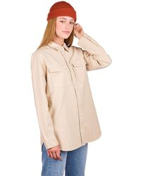 Burton Grace Premium Flannel Shirt blanco - Neutro