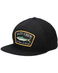 Salty Crew Mossback Cap - Schwarz