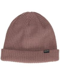Volcom Sweep Lined By Beanie rojo - Multicolor