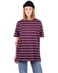 Zine Maya T-Shirt rojo - Morado