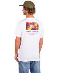 Makia Barrier T-Shirt - Weiß