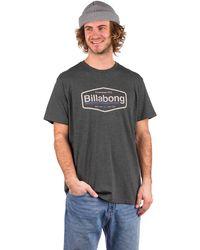 Billabong Montana T-Shirt gris - Negro