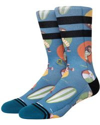 Stance Monkey Chillin Socks azul