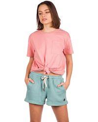Kazane Rehn T-Shirt rosado - Rojo