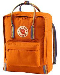 Fjallraven Kanken Rainbow Backpack rainbow patt - Orange