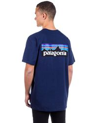 Patagonia P-6 Logo Responsibili T-Shirt azul