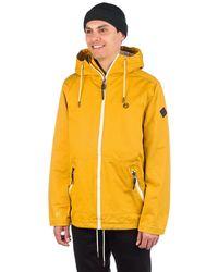 Kazane Falk jacket amarillo
