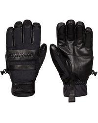 Quiksilver Squad Gloves negro