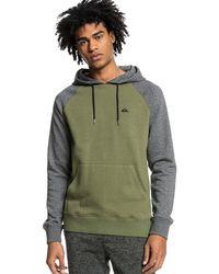 Quiksilver Essential hoodie verde