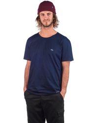 Yes Embro T-Shirt - Blau