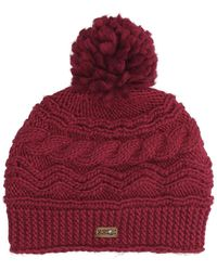Roxy Winter Beanie - Rot