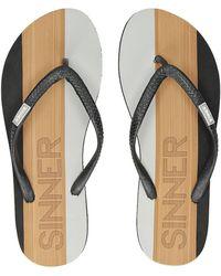 Sinner Capitola Sandals light brown - Braun
